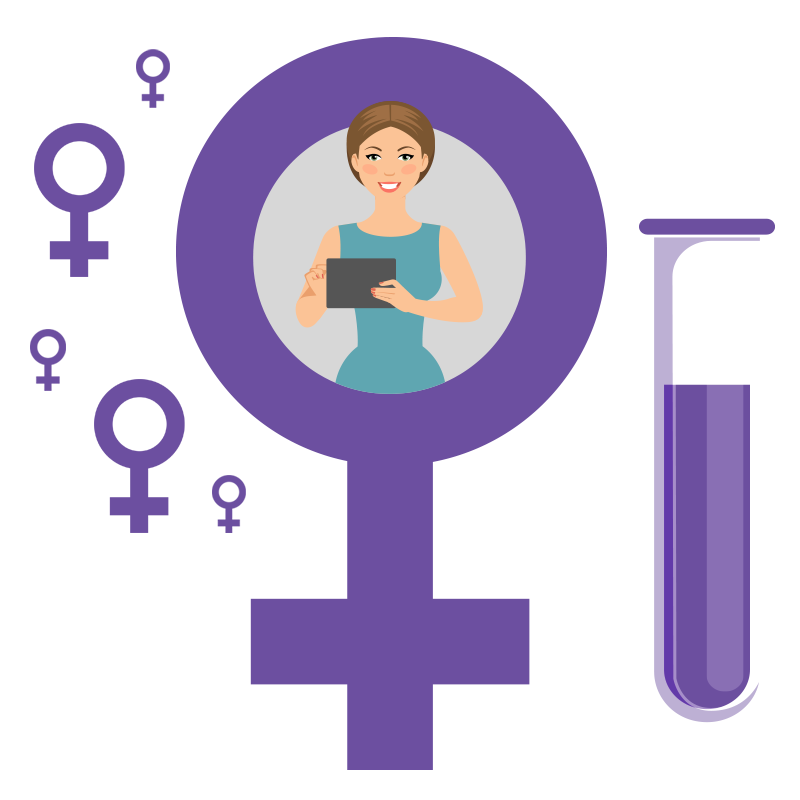 Avita Female Saliva Test